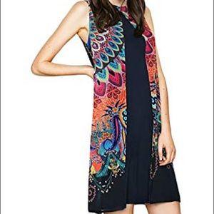 Desigual 36 or US Size 4 Tabi Overlay Dress